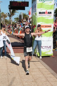 Im Lanzarote finish